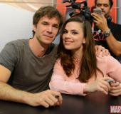 2015.07.11 SDCC Marvel Booth Signing, Peggy Carter Flashmob, Dubsmash, Press Interviews