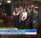 "2015.01.02   Good Morning America: Behind The Scenes - Marvel's ""Agent Carter"""