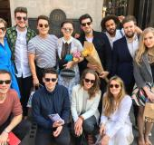 2017.04.08 Hayley's Birthday Brunch at The Wolseley