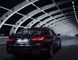 Focusing on BMW 7 series - 4 new adverts