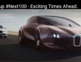 Latest advert: BMW Vision #Next 100