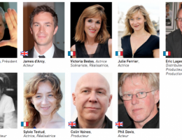 Presenting the 2016 Jury of the British Film Festival in Dinard