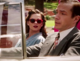 Agent Carter first preview, new BMW X1 TV advert and filming in the desert