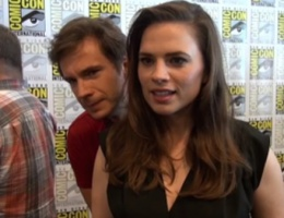 Video interviews with James and Hayley from San Diego Comic Con
