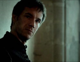 The first shot of James D'Arcy as Banquo in Enemy of Man