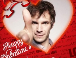Happy Valentine's Day to James and all James D'Arcy fans!